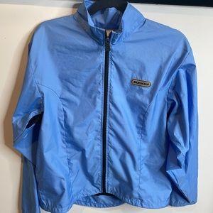 Sugoi Blue Lightweight Athletic Jacket L pocket